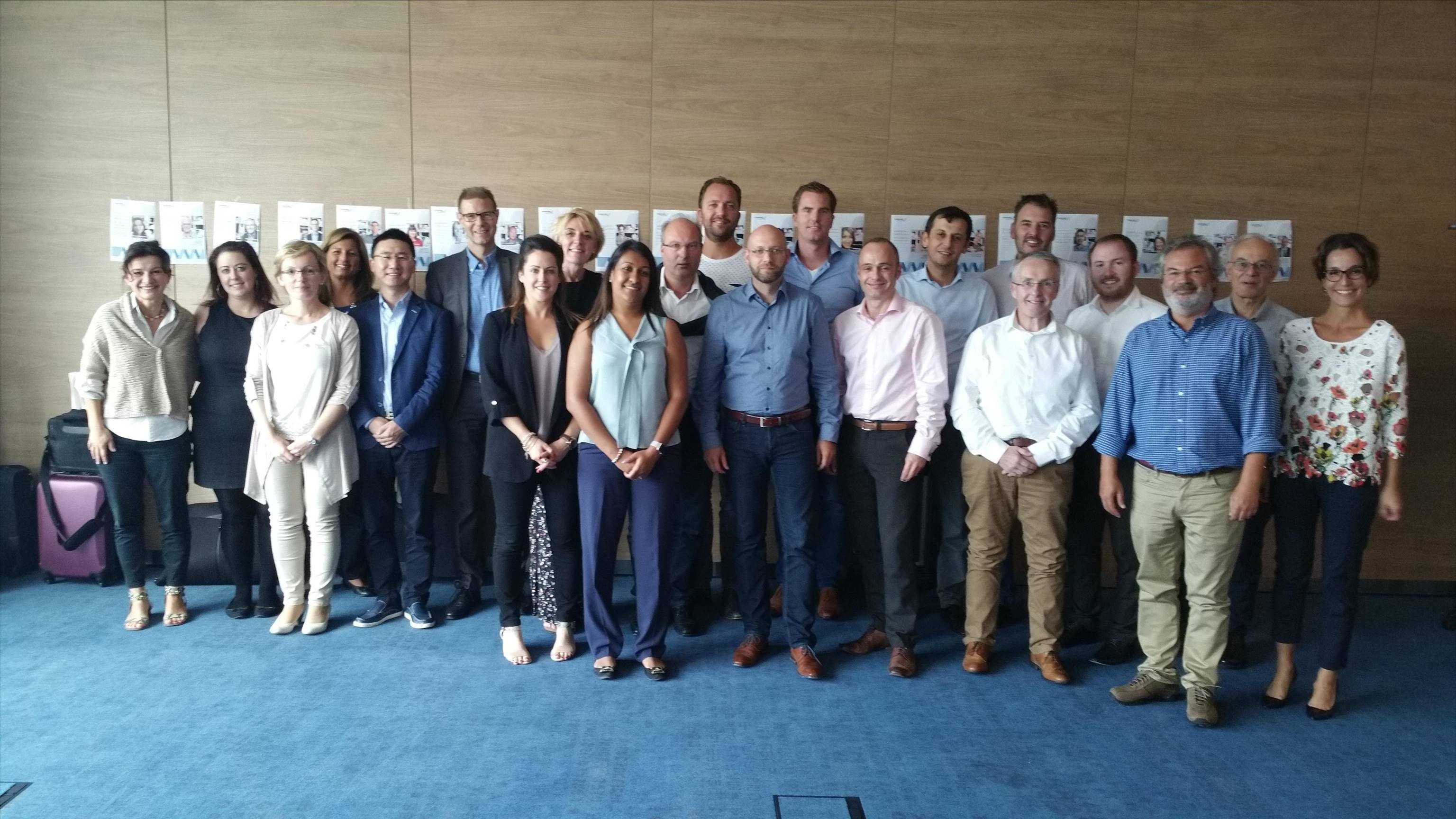 A new group of in-house coaches for VWR in Europe