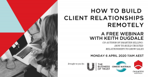 webinar how to build relationships remotely