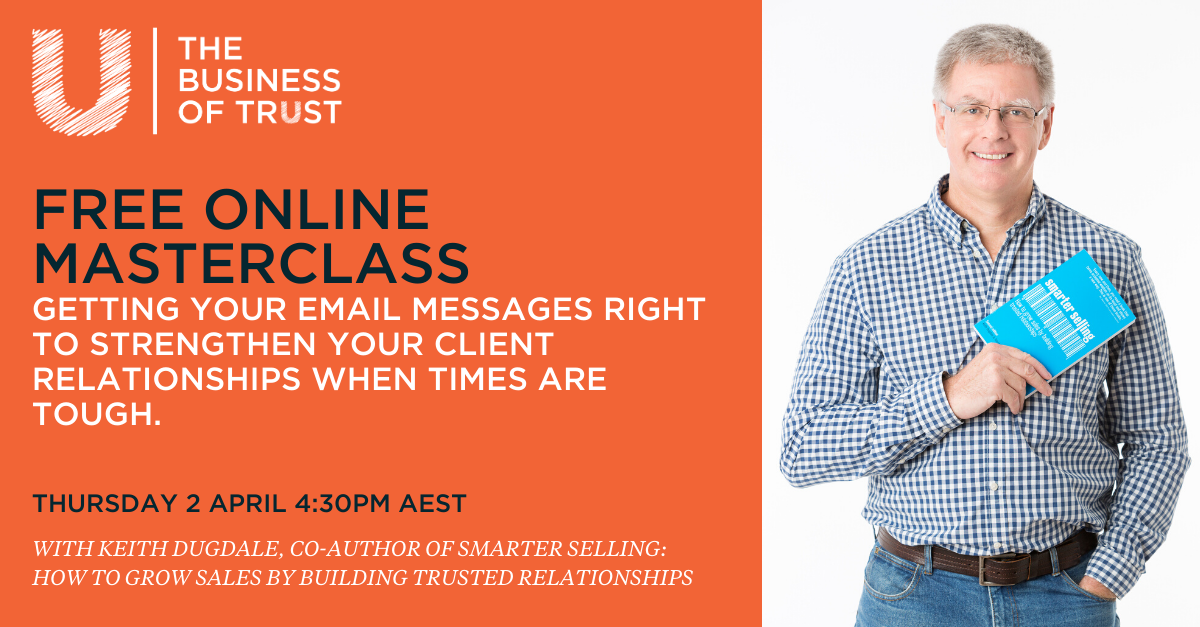 Free online masterclass building client relationships remotely