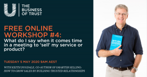 How to sell my service or product webinar