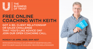 Free online sales coaching with Keith